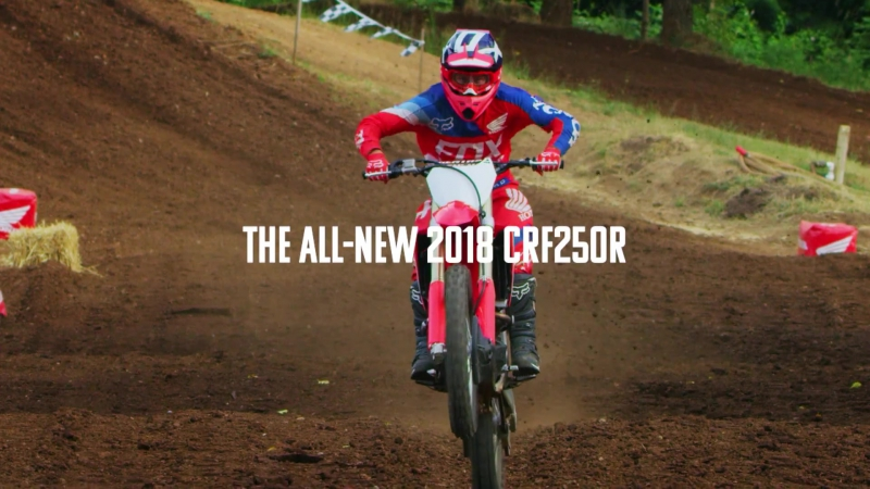 The New Honda CRF250R - Absolute Holeshot