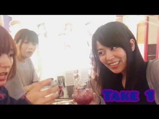 Сейю группы Roselia в кафе, посвященном игре BanG Dream! Girls Band Party! (1 версия)