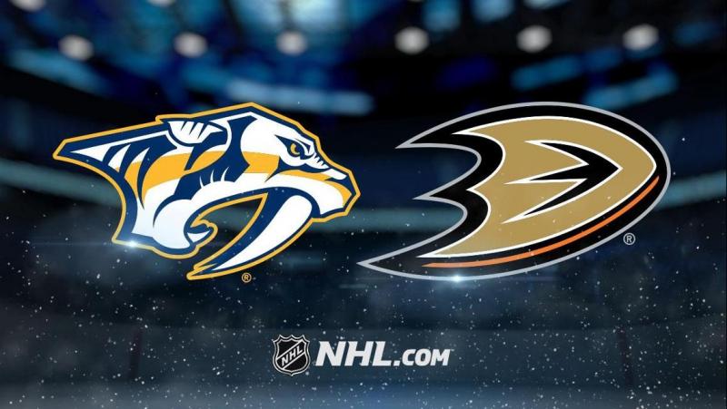 Хоккей. НХЛ. Плей-офф. 1/2 финала. Нэшвилл — Анахайм