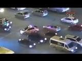 Полицейские в Уфе перекрыли весь перекрёсток чтоб пенсионер мог перейти дорогу