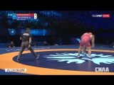 Чемпионат Мира по борьбе 2017 Финалы Мужчины вольная борьба 25 августа 2017  Z.Natsagsuren vs N. Gwiazdowski