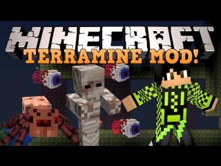 Minecraft ТЕРРАРИЯ! (Новые мобы, Боссы и тд) Обзор модов TerraMine1