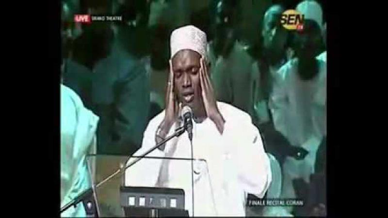 Mouhamed Hady Toure au grand théâtre de Dakar