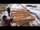 ч.2 Каркасная бытовка своими руками. Изготовление и установка каркасных стен