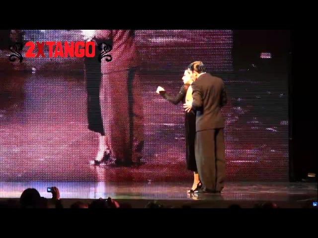 Campeones Mundial de Tango 2011. Categoria Escenario. Max Van De Voorde Solange Acosta Zum