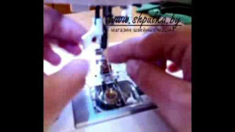 Презентация швейной машины Singer 7465 часть1