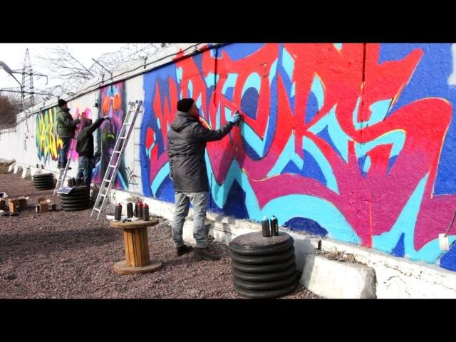 SPP Crew Graffity Process   StreetArt Museum