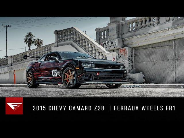 2015 Chevy Camaro Z28   Because Race Car   Ferrada Wheels FR1