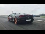 Race 1000 Lamborghini Huracan 1500+hp 219mph Goshaturbotech 22.07.2017