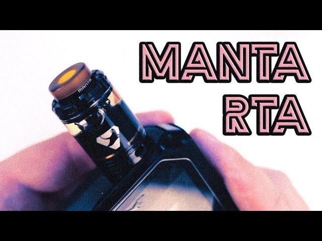 Лучший бак 2017 ! MANTA RTA - Обзор, намотка, конструктив КОНКУРС!
