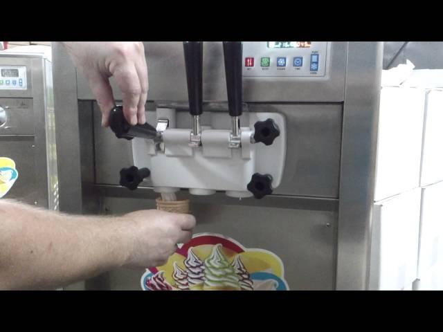 8 процесс приготовления мороженого фризер BQL 825 BQL832