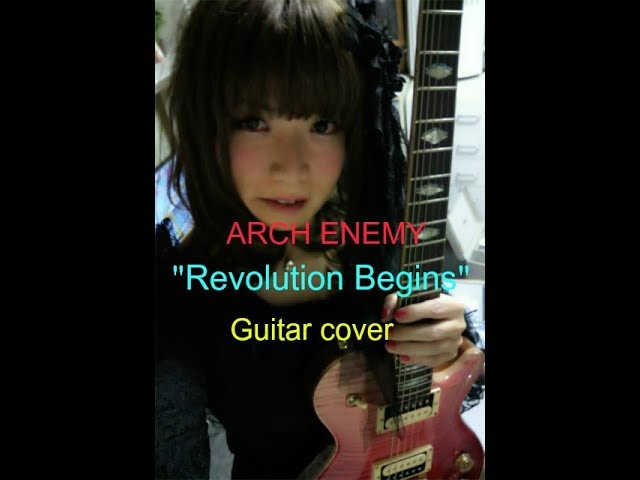 ARCH ENEMY Revolution Begins Guitar cover ✩弾いてみた✩EXPART FL✩