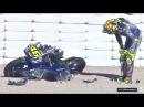 😬 Валентино Росси затестил Yamaha YZR M1 2018 😰!