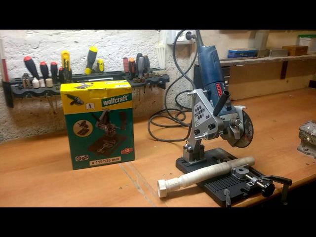 Wolfcraft 5019000 - Suport pentru polizor unghiular - Partea a-2-a
