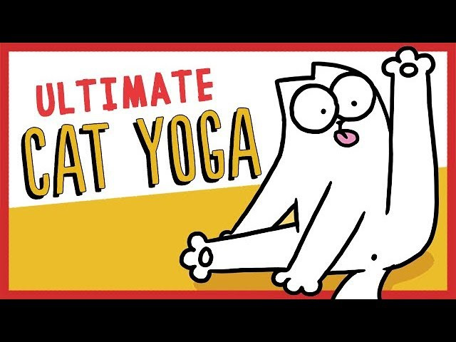 Ultimate Cat Yoga Simon's Cat GUIDE TO