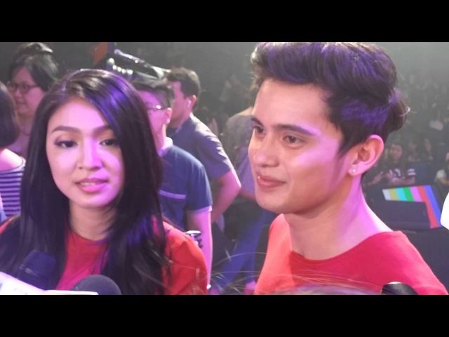 Jadine talks about Competition with Kathniel PSHR and On The Wings Of Love