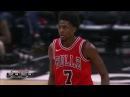 Justin Holiday, Kemba Walker Game Highlights from Chicago Bulls vs Charlotte Hornets