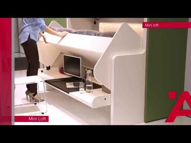 Häfele Interzum 2015 Mini Loft