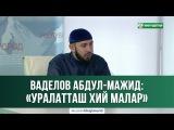 © Ваделов Абдул-Мажит - «Уралатташ хий малар» 19.07.2017