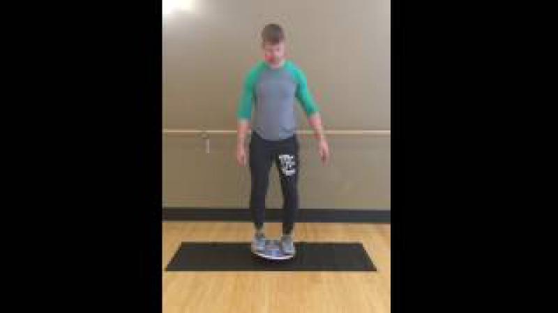 Balance Board Exercise 3: Side Tilt