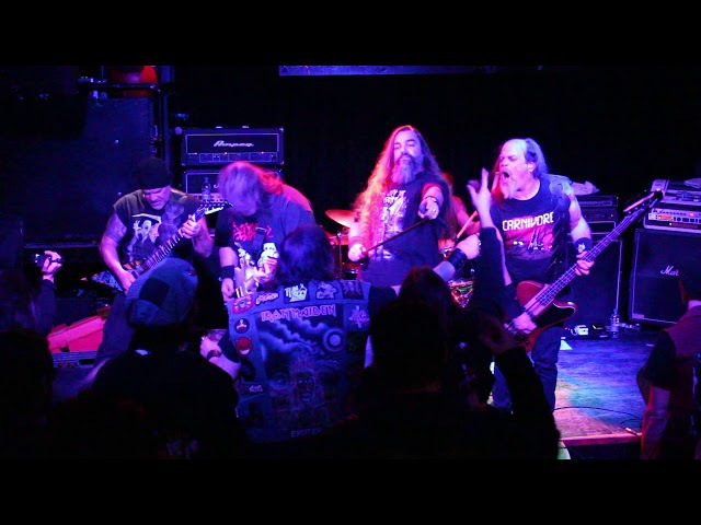 BLOOD FEAST Live @ Bowery Electric 10-31-17 '' Off with their heads ''