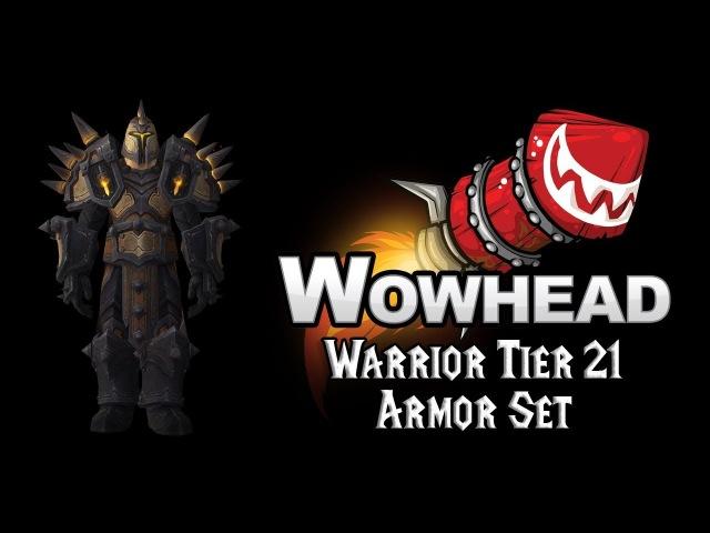 Warrior Tier 21 Armor Set - Juggernaut Battlegear