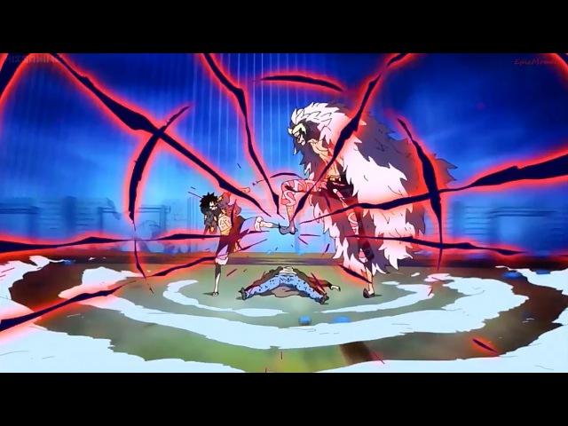 [ AMW One Piece Full Fight ] Luffy VS Doflamingo - Overkill [Courtesy Call ]