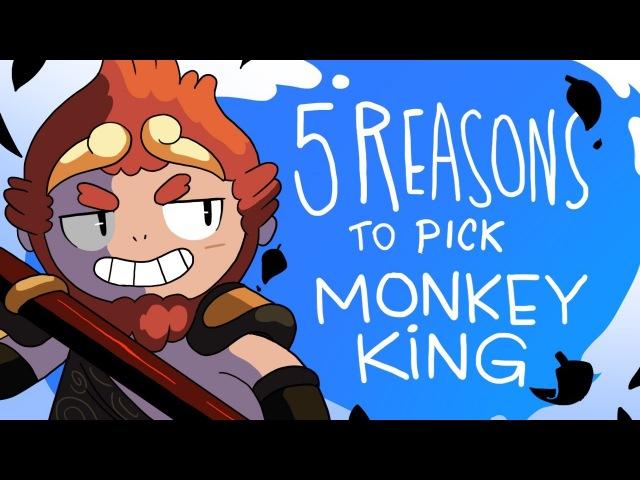 5 REASONS TO PICK MONKEY KING