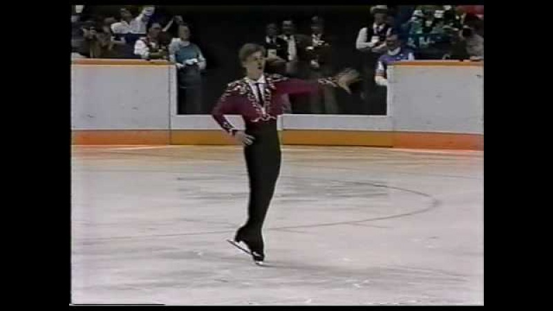 Viktor Petrenko URS 1988 Calgary Men's Long Program