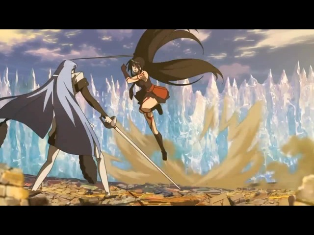 Esdes VS Akame | Akame ga Kill |WhiteBlack|