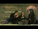 Interview mit Kissin' Dynamite am Metal Crash Festival 2017