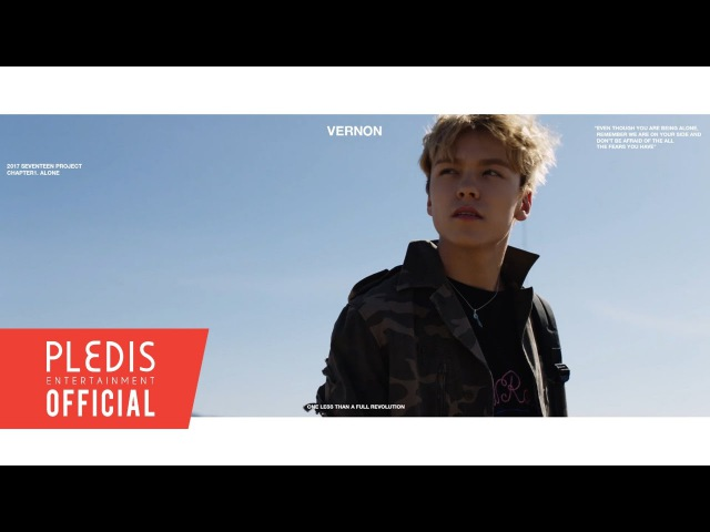 2017 SEVENTEEN Project Chapter1. Alone Trailer Vernon(버논)