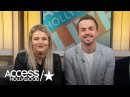 'DWTS': Frankie Muniz & Witney Carson Talk About Their Best Dance Week Yet  | Access Hollywood