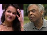 Ex-bbb Emilly diz que Gilberto Gil pegou o seu lugar no teatro
