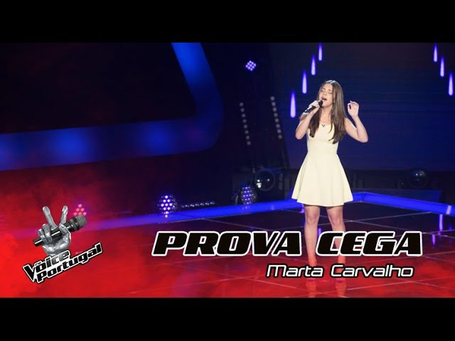 Marta Carvalho - Run | Provas Cegas | The Voice Portugal