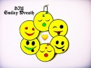 DIY Mini Smiley Wreath Super Easy Cute Wall Decor Ideas Karthika Loves DIY