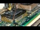 Пайка планарных микросхем замена мульти контроллера на коленке блок питания