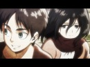 [AMV][Attack On Titan] Eren Mikasa - Angel With A Shotgun