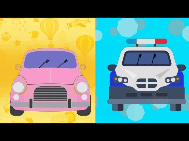 Едет Машина далеко Крутятся Колеса у Нее Песенки для Детей Машина едет далеко