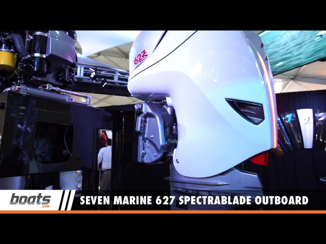 Seven Marine 627 SpectraBlade Outboard Engine: First Look Video