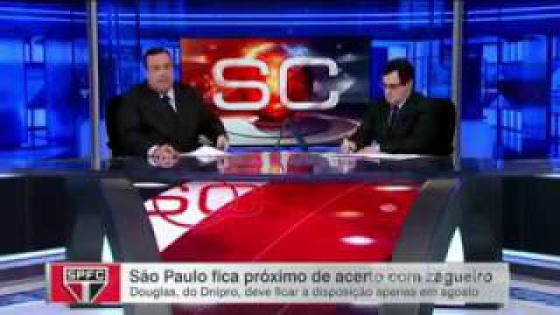 Milton Caraglio - Amigão cai na risada ao falar o nome do possível atacante do SPFC