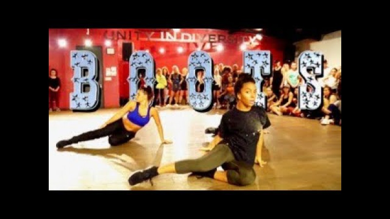 Boots ft Charlize Jade Madelyne Kesha Brian Friedman Choreography Millennium