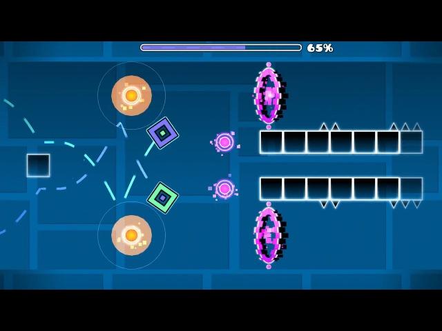Geometry Dash — Destruction Layout by Deviluxe (me)