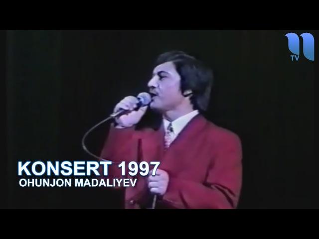 Охунжон Мадалиев 1997 йилги концерт дастури