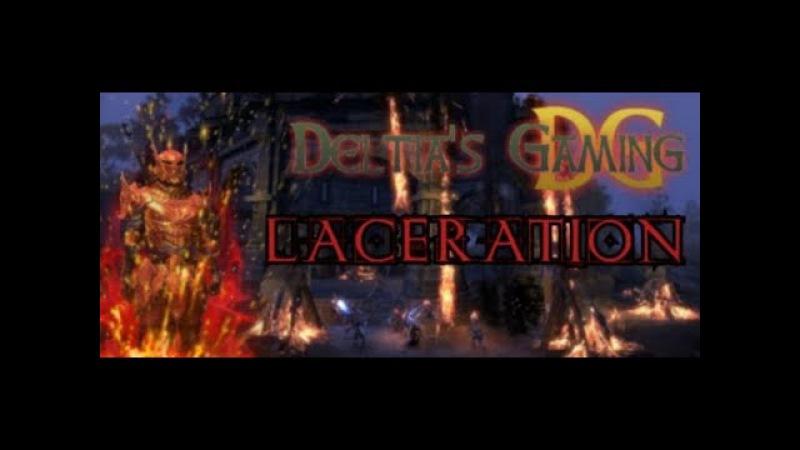 Laceration Magic Dragonknight PvP Build for ESO Clockwork City DLC