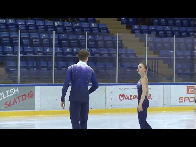 Aleksandra BOIKOVA / Dmitrii KOZLOVSKII, Warsaw Cup 2017 SP