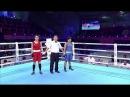 AIBA Women's Youth 2017 SemiF: (51kg) ABDRAIMOVA Zhansaya (KAZ) vs Jyoti (IND) 24112017