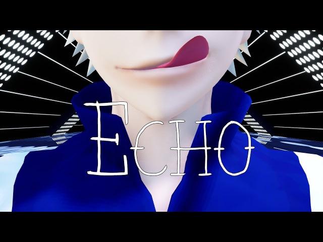 【Boku no Hero Academia MMD】 ECHO 『Bakugou - Midoriya - Todoroki』