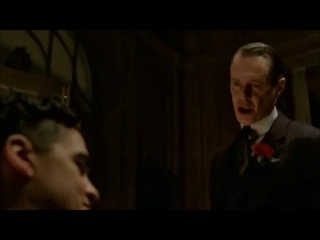 Boardwalk Empire - Nucky slaps Luciano.