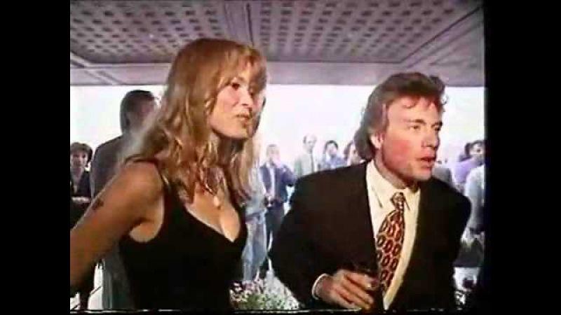 Клаудия Шиффер и Жан Клод ВанДам 1992 в Каннах